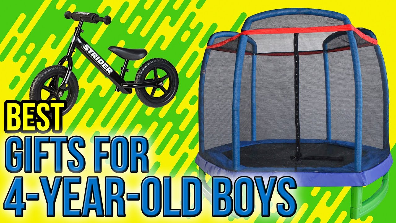 10 Best Gifts For 4 Year Old Boys 2017