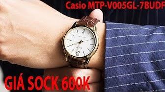 Mở Hộp Đồng hồ Casio MTP-V005GL-7BUDF Chính hãng tại Shopwatch.vn