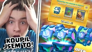 OTEVŘEL JSEM LEGENDARY CHEST! - CLASH ROYALE AFTERUPDATE VIDEO
