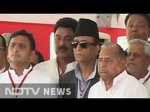 Chief Minister Akhilesh Yadav trolled today. By father Mulayam.