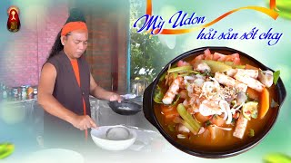 Cùng theo chân Minh Sư Ruma vào bếp nấu món Mỳ Udon Hải Sản Sốt Chay - Mới Lạ Dễ Làm
