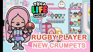 Toca Life World : New Secret Crumpets in Bop City - Rugby Player