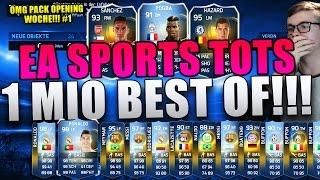 FIFA 15 - EA SPORTS TOTS 1 MILLIONEN BEST OF! HOLY SHIT!!! [FACECAM] PACK OPENING WOCHE!!! | DEUTSCH