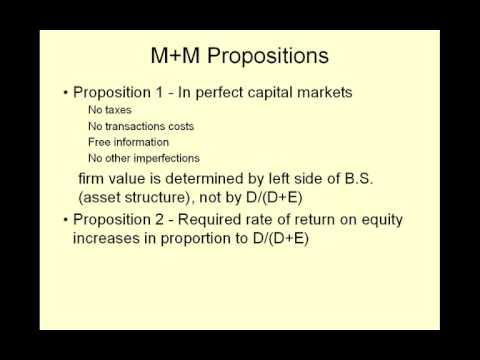 video18 Capital Structure
