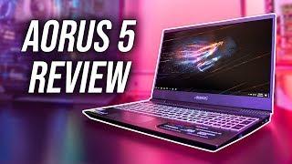 Aorus 5 (GTX 1650/i7-9750H) Gaming Laptop Review