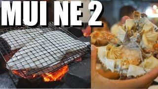 LOCAL VIETNAMESE FOOD at Mui Ne Beach: Part 2/2