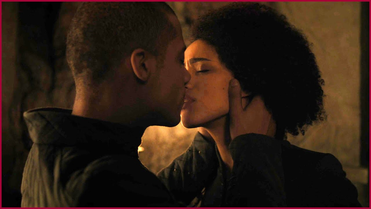 Image result for The most intimate scene between Missandei and Gray Worm