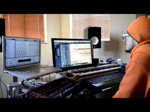 Harmonica Progressive Psy-Trance Music (The making In d Studio with Charlie Aka Tripy )