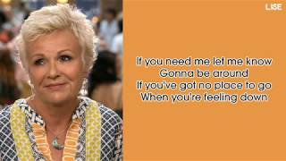 """Julie Walters - Take A Chance On Me (From """"Mamma Mia!"""") [Lyrics Video]"""