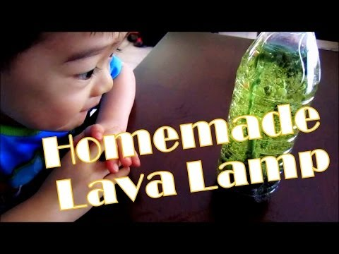 Toddler Science Experiment 1 Homemade Lava Lamp Youtube