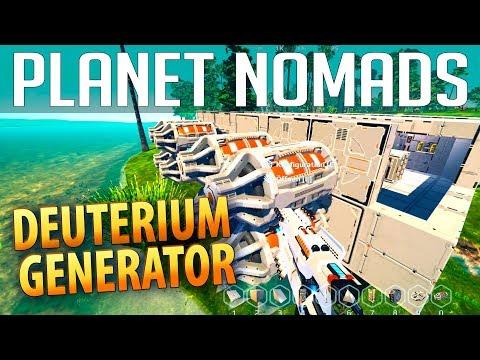 PLANET NOMADS #036 | Deuterium Generator | Gameplay German Deutsch