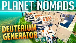 PLANET NOMADS #036 | Deuterium Generator | Gameplay German Deutsch thumbnail