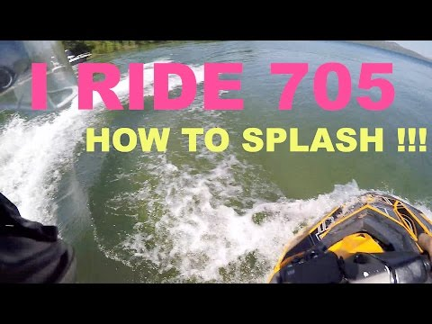 #22 How to splash someone with a seadoo spark jet ski safely