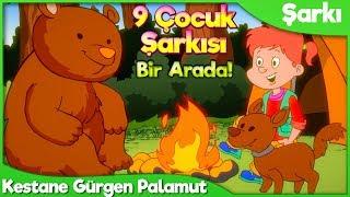 Kestane Gürgen Palamut ve 8 Çocuk Şarkısı  Okul Öncesi Çocuk ve Bebek Şarkıları