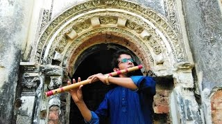 Amaro Porano Jaha Chay on Flute by Mithun _আমার পরাণ যাহা চায়-বাঁশি    Rabindra Sangeet   