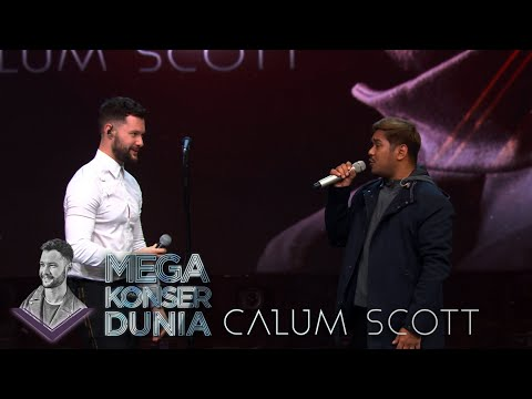 Mega Konser Dunia - Duet Abdul Dan Calum Scott Bikin Merinding 20 MARET 2019