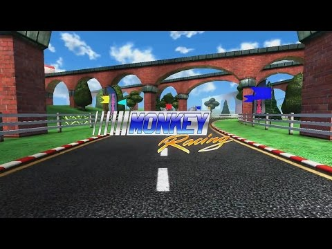 Monkey Racing (by Crescent Moon Games) - iOS / Android - HD Gameplay Trailer