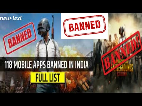 PUBG Ban In India | 😱 Govt. Banned 118 Chinese app Including Pubg Mobile Lite | UC Barbad Behench@d from YouTube · Duration:  3 minutes 56 seconds
