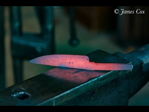 How to forge a 500 layer damascus knife