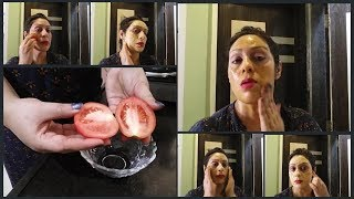 Skin Whitening Tomato Facial | Get Fair, Glowing, Spotless Skin Permanently |Step By Step