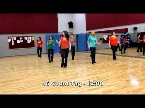 Fall In Love - Line Dance (Dance & Teach in English & 中文