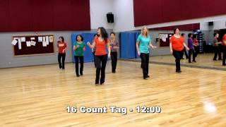 Fall In Love - Line Dance (Dance & Teach in English & 中文