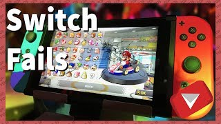 Nintendo Switch Fail Compilation [2017] (TOP 10 VIDEOS)