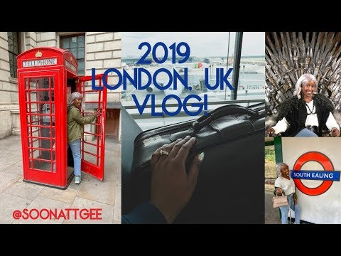 2019 LONDON, UK VLOG! From Twerking In Costco To Visiting The Queen!