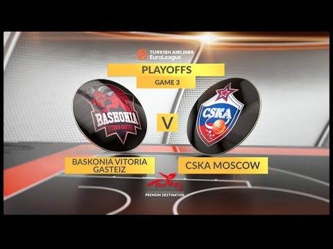 ЦСКА обыграл «Басконию» и вышел в «Финал четырёх» Евролиги