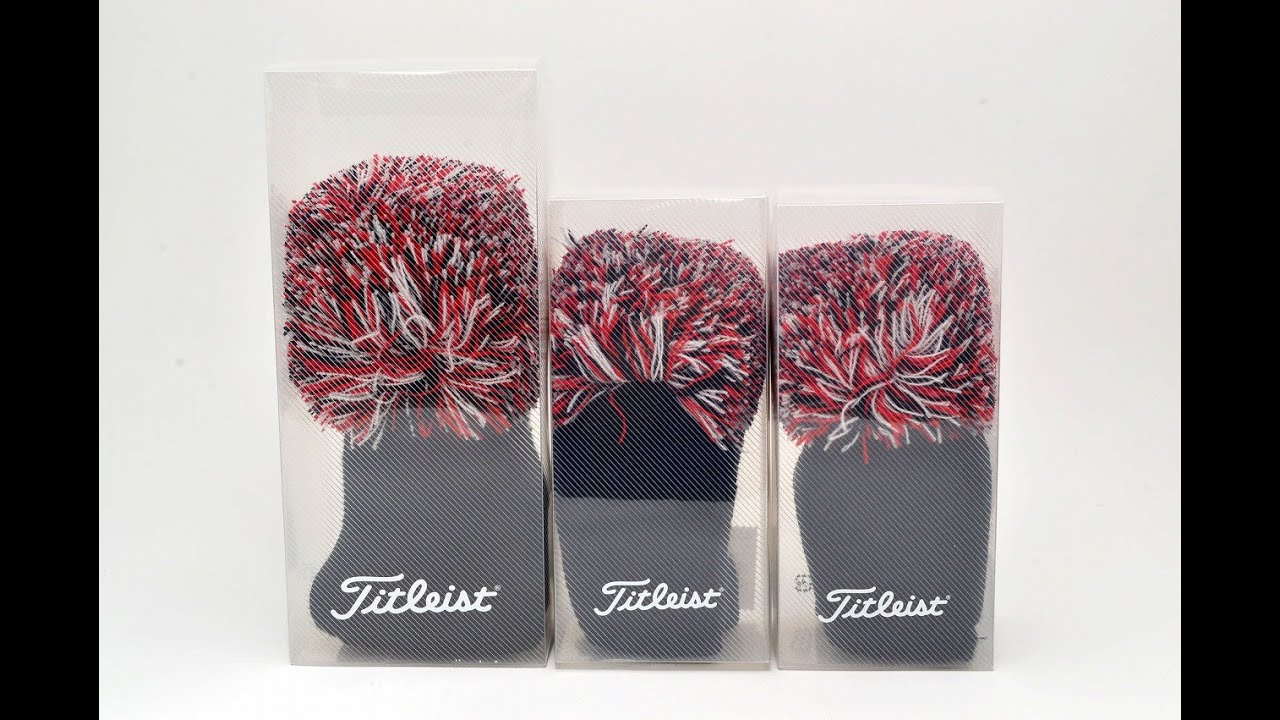 Titleist Knitted Headcover Driver Fairway Utility wood Hybrid Japan ...