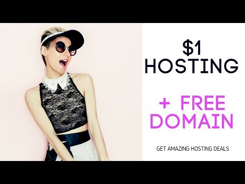 How to claim your 1 Dollar hosting deal from godaddy with free domain name in 2015
