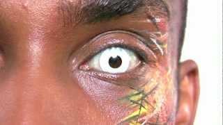Whiteout Contact Lenses (Block White)