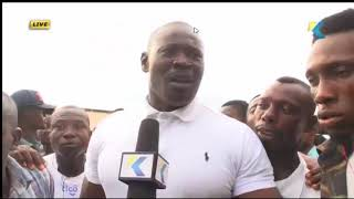 WATCH FANS REACTION AFTER BLACK STARS DRAW WITH CONGO