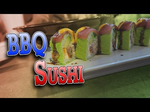 BBQ SUSHI IN HOUSTON TEXAS | ERIKTV365