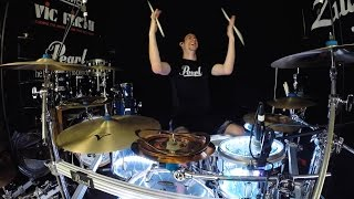 Muse - Psycho - Drum Cover