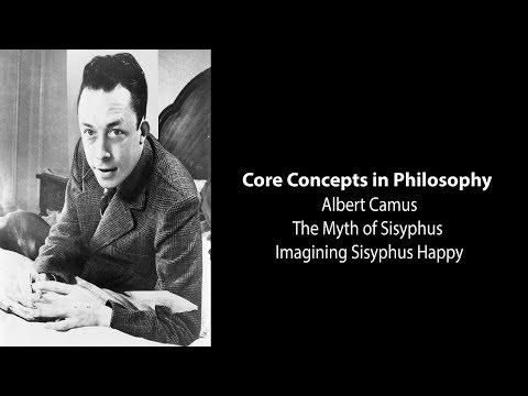 Albert Camus, The Myth of Sisyphus | Imagining Sisyphus Happy | Philosophy Core Concepts