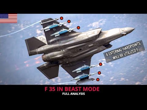 F 35 IN BEAST MODE !! WHAT IT BRINGS TO THE TABLE ?