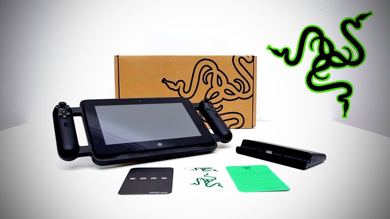 World S Most Powerful Gaming Tablet Razer Edge Pro Unboxing