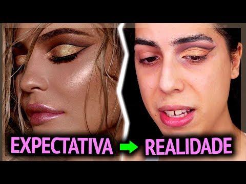 Maquiagem NÍVEL HARD copiando a Kylie Jenner