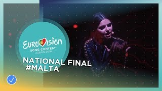 Video Christabelle - Taboo - Malta - National Final Performance - Eurovision 2018 download MP3, 3GP, MP4, WEBM, AVI, FLV September 2018