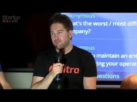 Sam Chandler (Nitro) at Startup Grind Melbourne