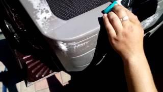 Как чистить обшивки (на примере моей приоры)(, 2015-06-06T12:38:03.000Z)