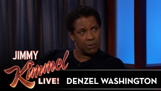 Denzel Washington Used to Be a Garbageman