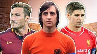 Iconic Captains XI | Cruyff, Maradona, Beckenbauer!