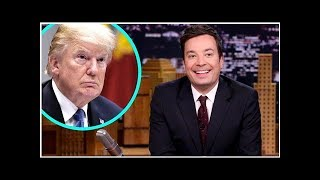 Jimmy Fallon Goes After Donald Trump in Politically Charged Monologue Following Twitter Feud   En...
