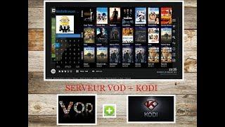 Crérer un serveur VOD - 1er partie + [FTP SERVER + KODI ]