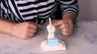 Şeker hamuru ile insan modelleme(How to make figüres from sugar paste)