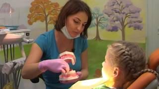 Лечим зубки с Евгенией Смотриной, врачом детской стоматологии