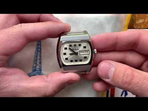 Видеообзор на часы Ракета-Бейкер с автоподзаводом и двойным календарем