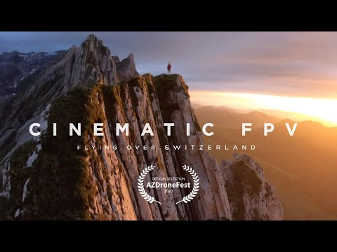 Cinematic FPV - Flying Over Switzerland